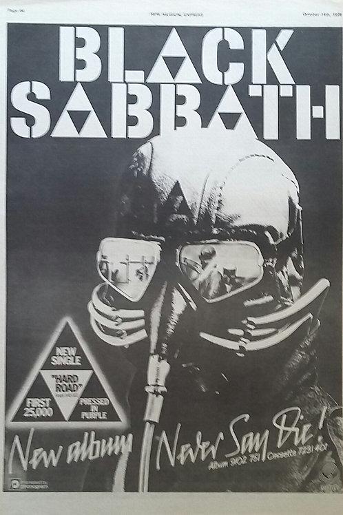 Black Sabbath – Never Say Die!