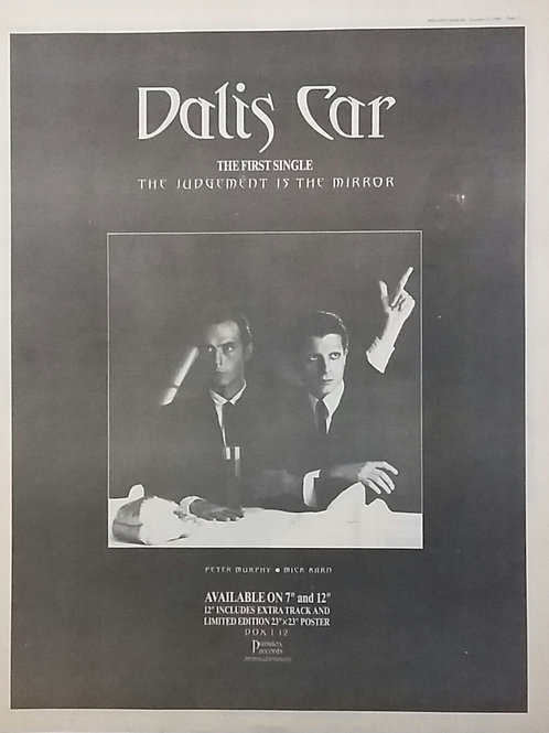Dalis Car - The Judgement Is The Mirror