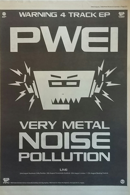 Pwei - Very Metal Noise Pollution