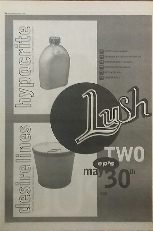 Lush - Desire Lines / Hypocrite