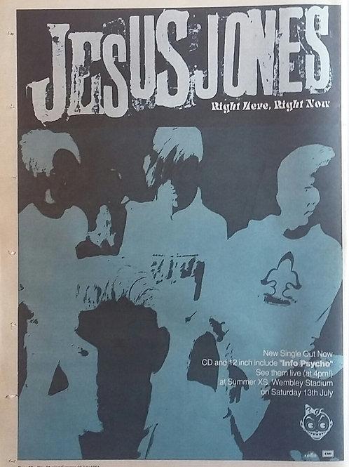 Jesus Jones - Right Here, Right Now