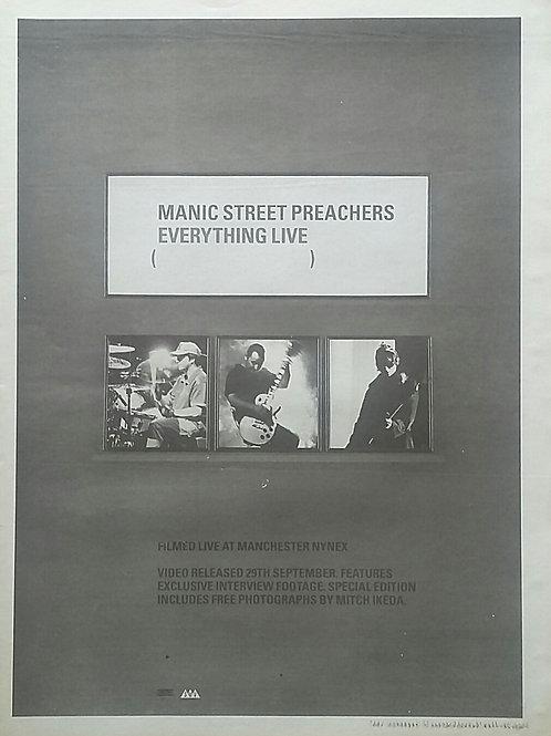 Manic Street Preachers - Everything Live