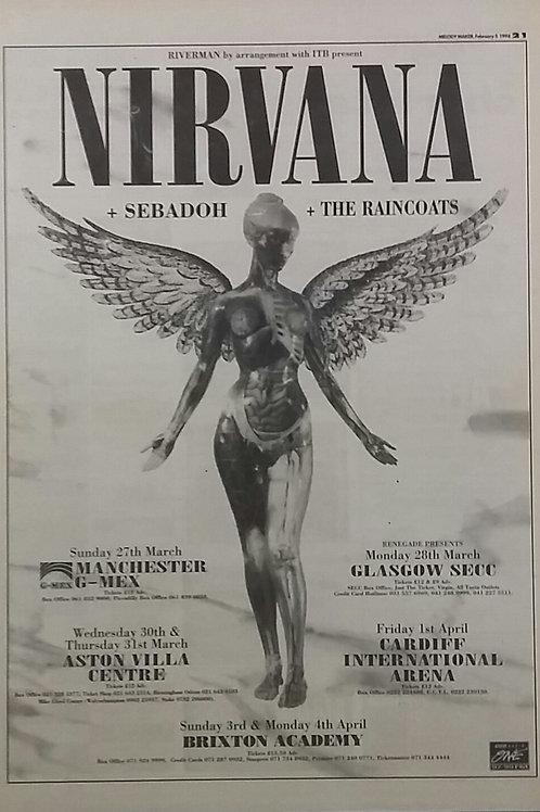 Nirvana - Tour