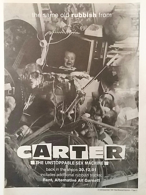 Carter The Unstoppable Sex Machine - The Same Old Rubbish