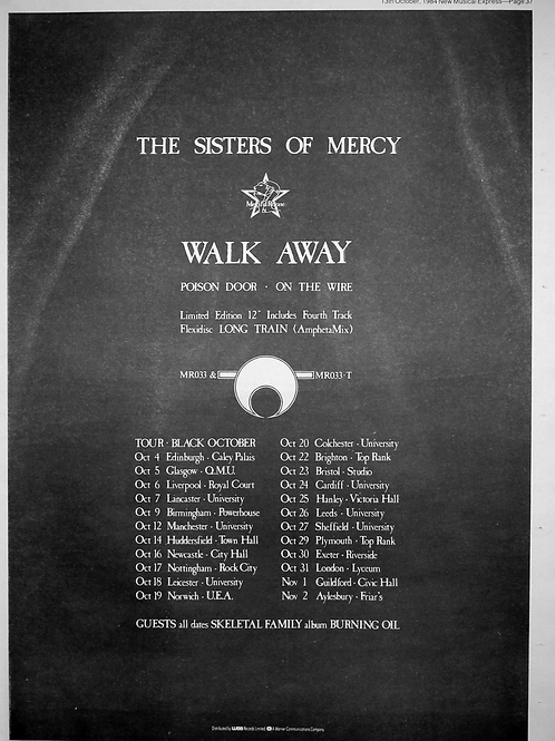 The Sister Of Mercy - Walk Awai