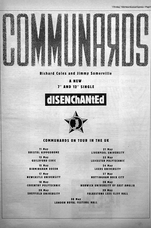 The Communards - Richard Coles And Jimmy Somerville