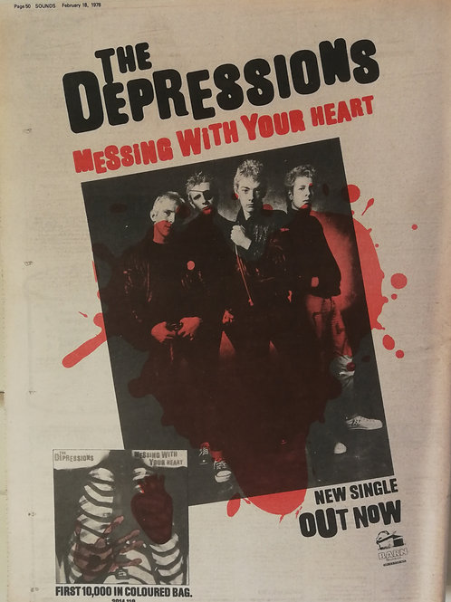 The Sepressions - Messing With Your Heart
