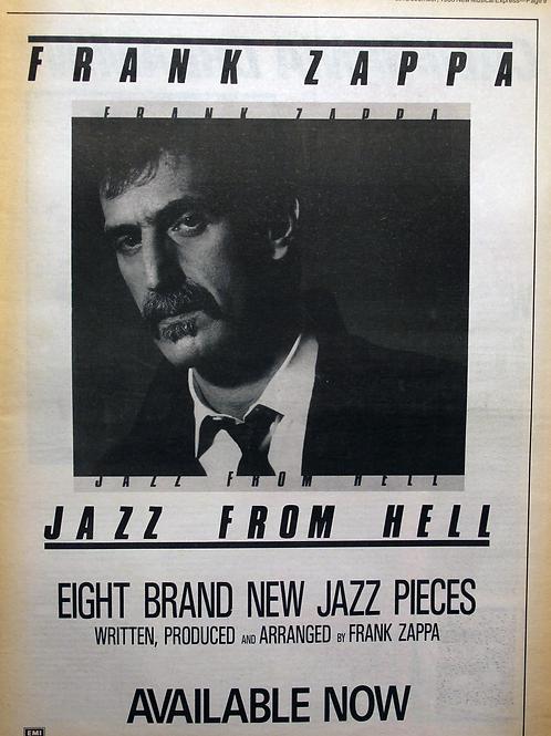 Frank Zappa – Jazz From Hell