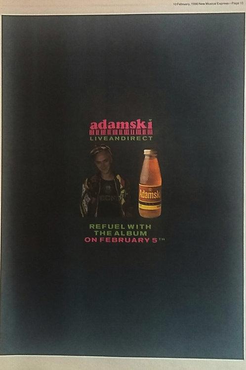 Adamski - Live And Direct