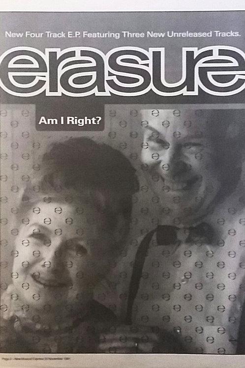 Erasure - Am I Right ?