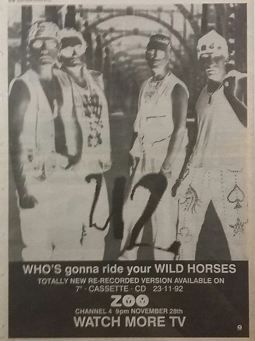 U2 - Who'S Gonna Ride Your Wild Horses
