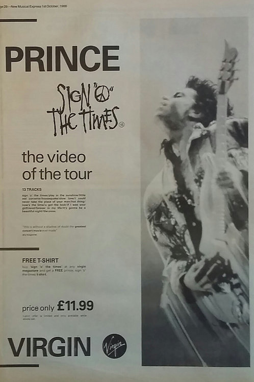 Prince - Sign The Times