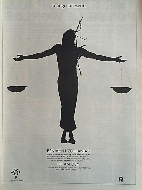 Benjamin Zephaniah - Us An Dem