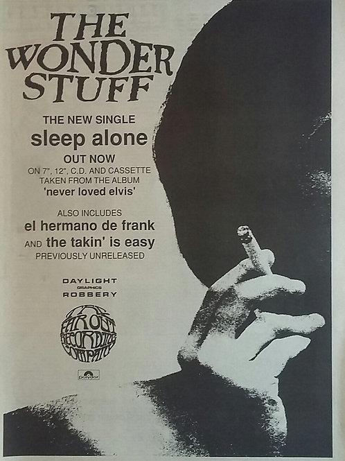 The Wonder Staff - Sleep Alone