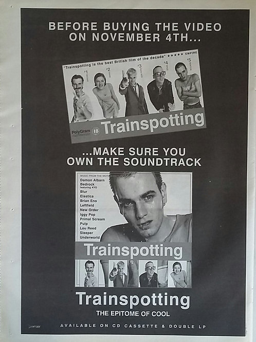 Trainspotting - The Epitome Of Cool