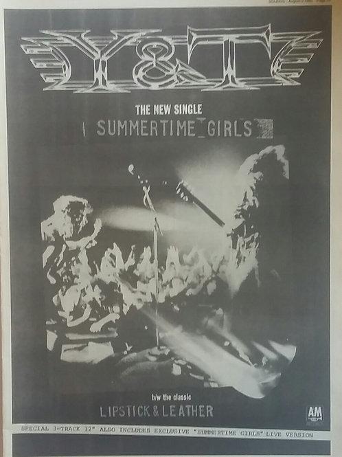 Y & T – Summertime Girls