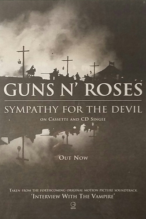 Guns N' Roses - Simpathy For The Devil