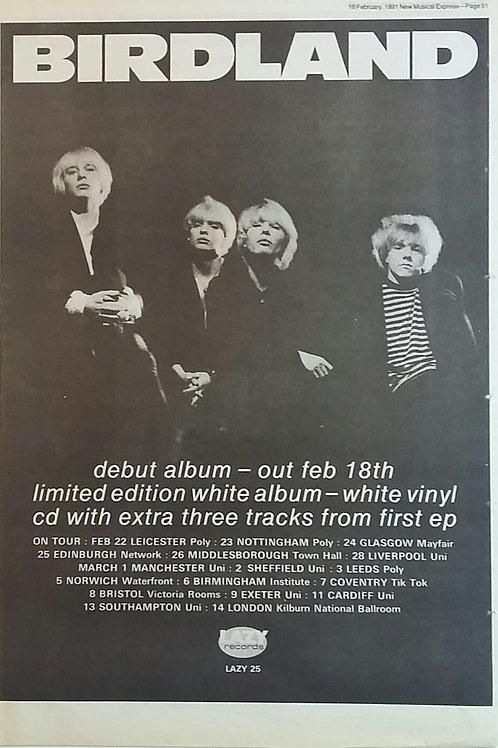 Birdland - Debut Album