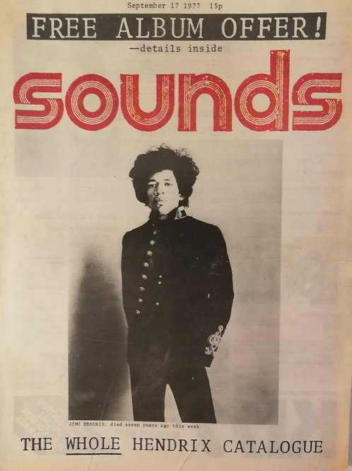 Sounds - Jimi Hendrix