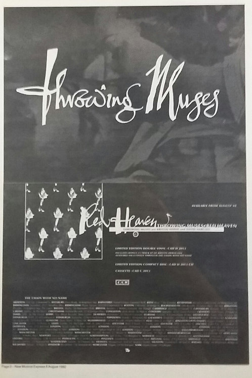 Throwing Muses ‎– Red Heaven