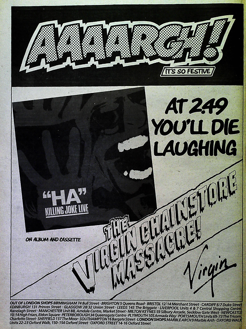 Killing Joke Live - Ha