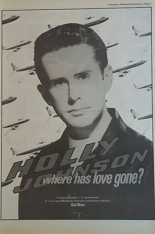 Holly Johnson - Where Has Love Gone ?