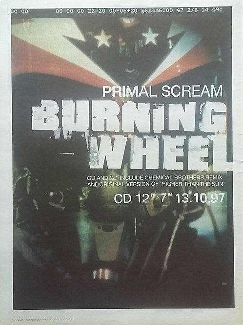 Primal Scream - Burning Whell