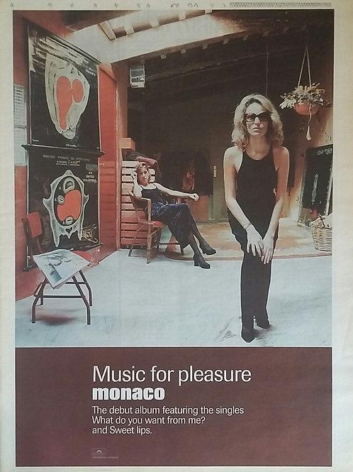 Monaco - Music For Pleasure