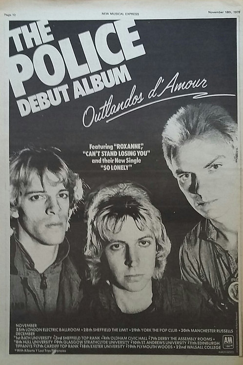 The Police - Debut Album