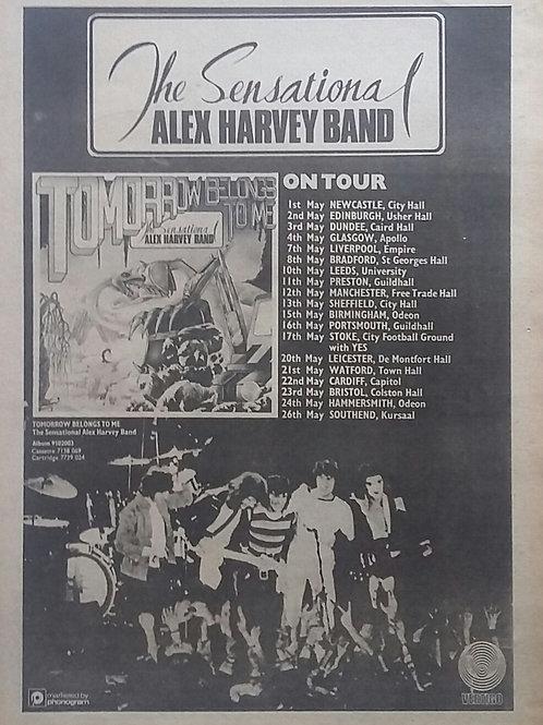 The Sensational Alex Harvey Band - On Tour