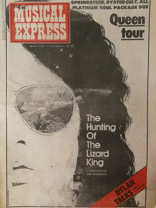 New Musical Express - Jim Morrison