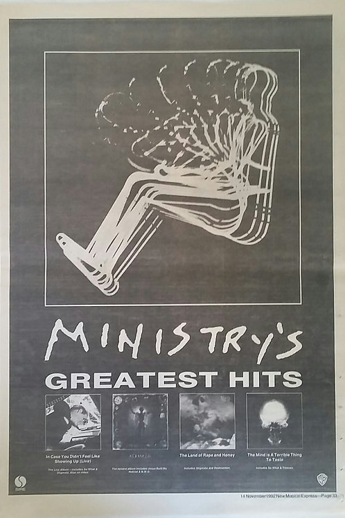 Ministry ‎– Greatest Hits