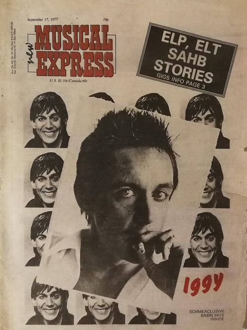 New Musical Express - Iggy Pop