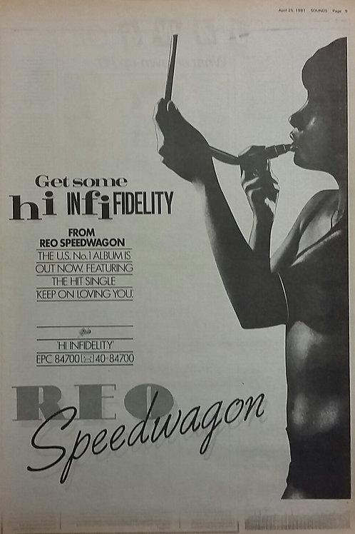 Reo Speedwagon - Get Some Hi Infidelity