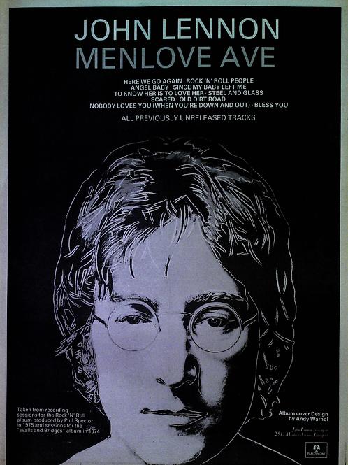 John Lennon - Menlove Ave