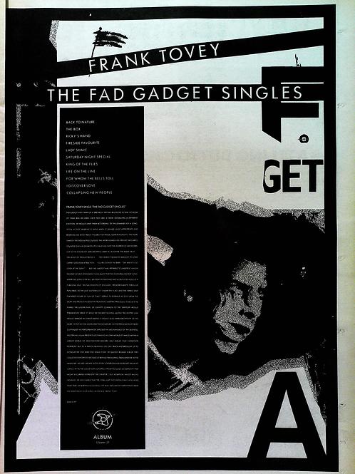 Fad Gadget – Fad Gadget By Frank Tovey