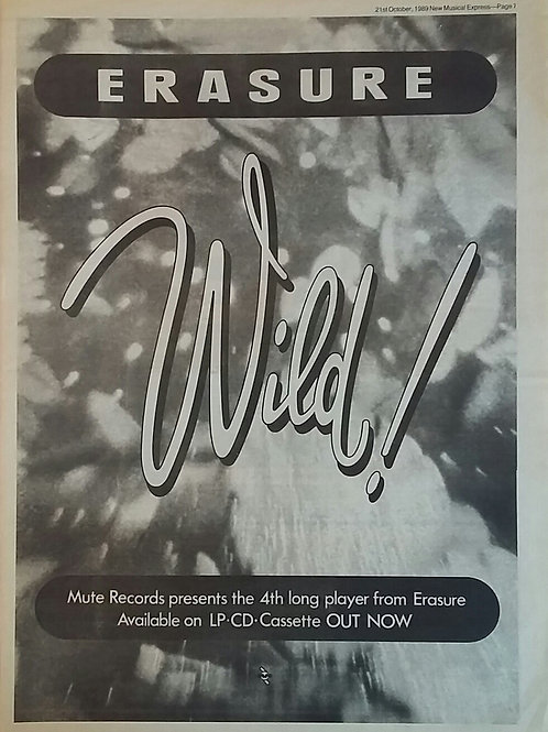 Erasure - Wild