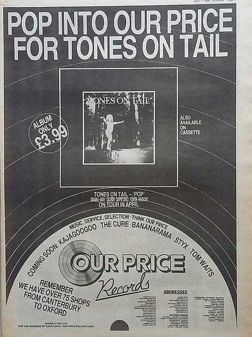 Tones On Tail - Pop