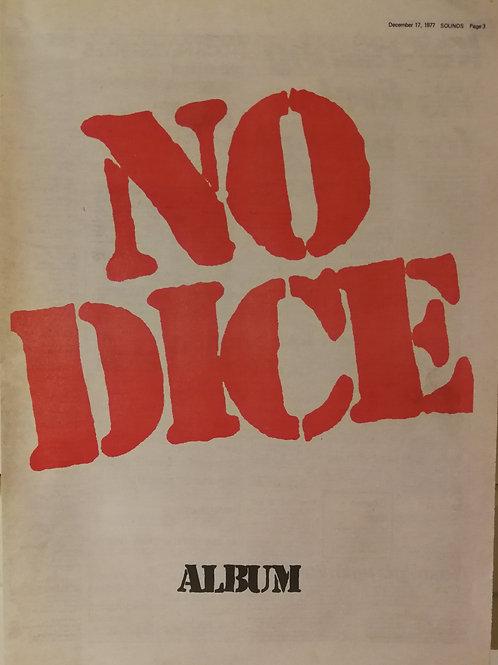 No Dice - Album