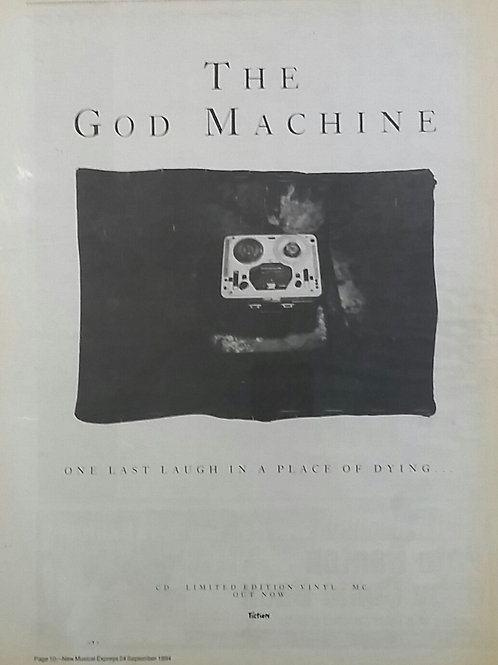 The God Machine – One Last Laugh In A Place Of Dying...