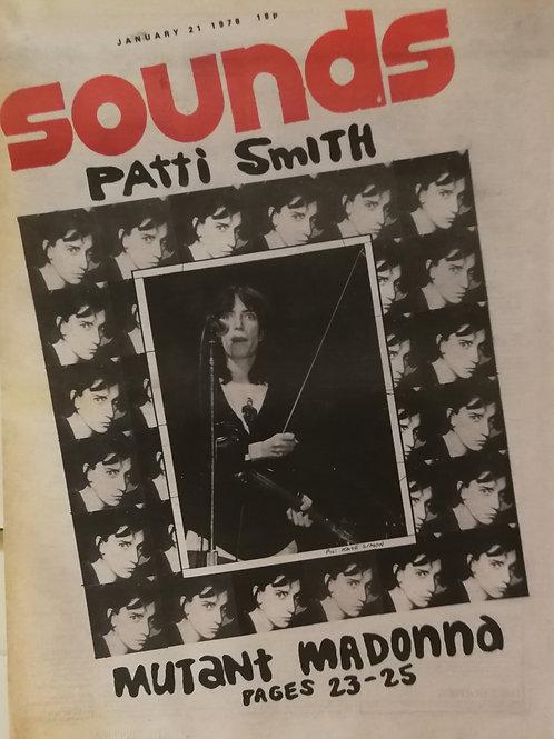 Sounds - Patti Smith