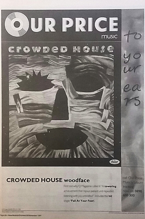 Crowed House - Woodface