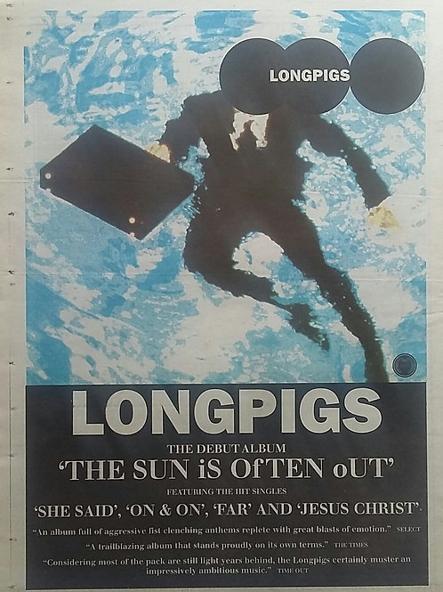 Longpigs - The Sun Is Often Out
