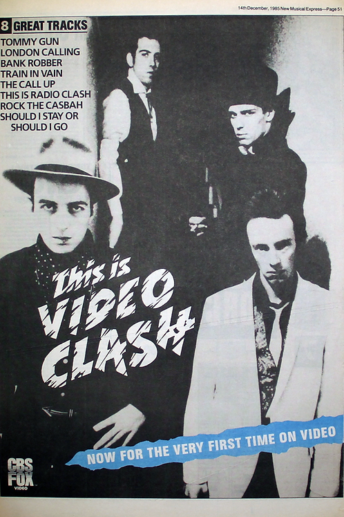 The Clash - Video Clash