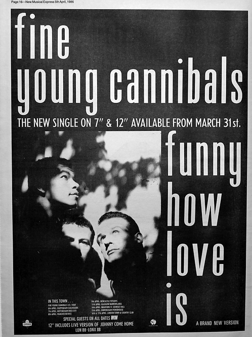 Fine Young Cannibals – Funny How Love Is