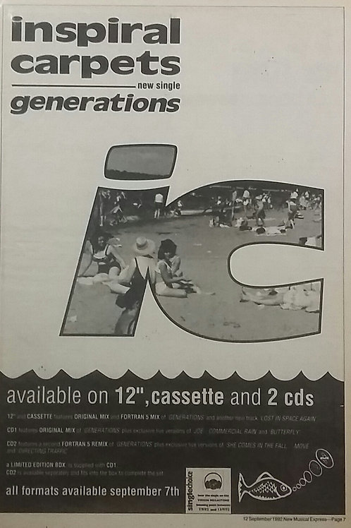 Inspiral Carpets - Generations