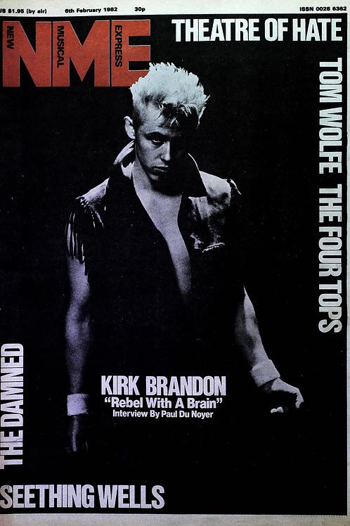 Kirk Brandon - Interview