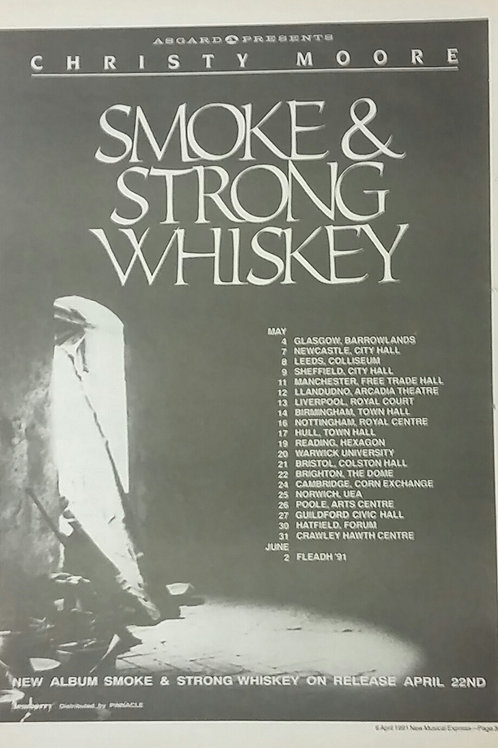 Christy Moore - Smoke & Strong Whiskey