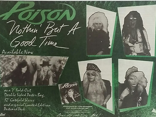 Poison  – Nothin' But A Good Time