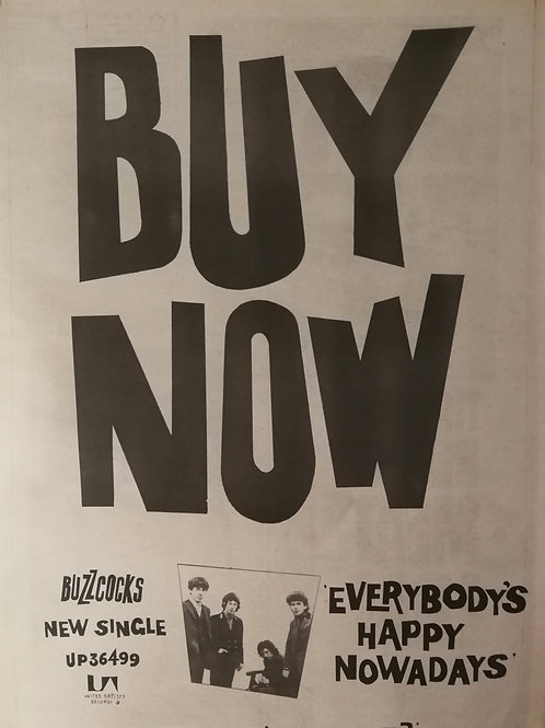 Buzzcocks - Everibody's Happy Nowadays